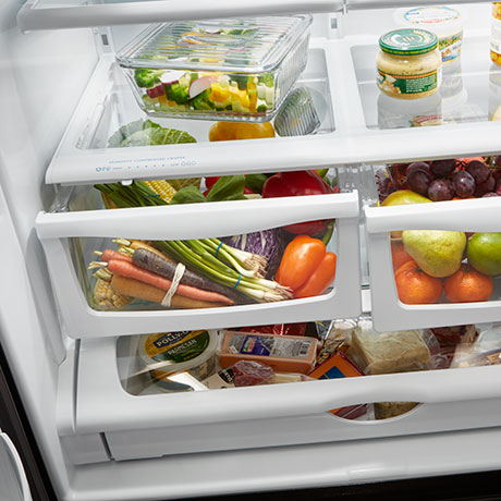 Humidity Controlled Double Crisper
