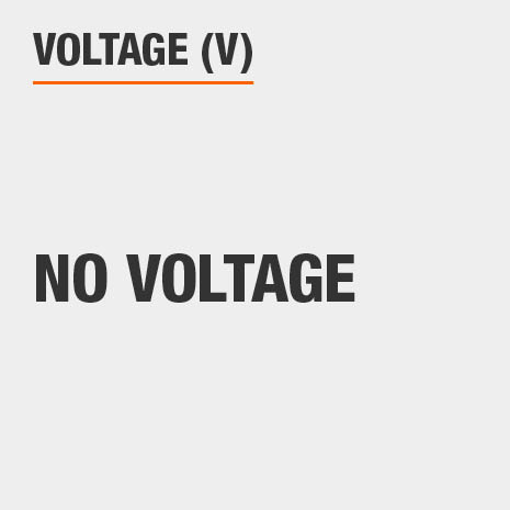This light has no voltage.