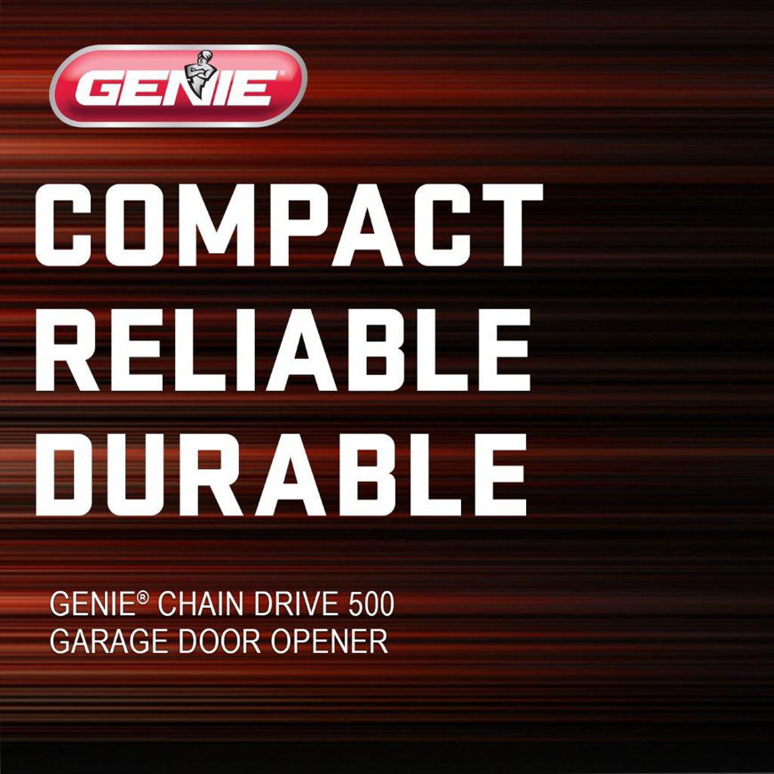 Genie has been making safe, reliable garage door openers for over 65 years 5 piece rail