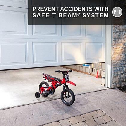 Genie has been making safe, reliable garage door openers for over 65 years Safe-T-Beams