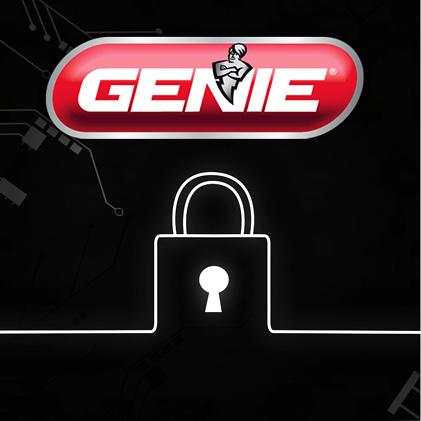 Genie has been making safe, reliable garage door openers for over 65 years with Intellicode