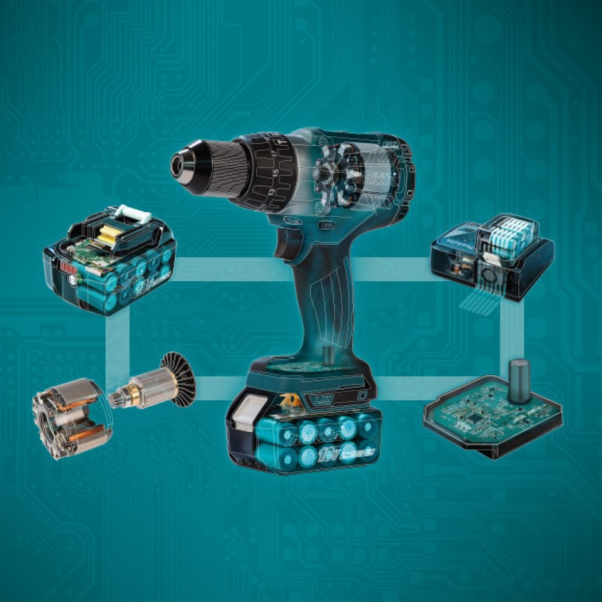LXT, Advantage, durable, dependable, 18V, tool, battery, charger