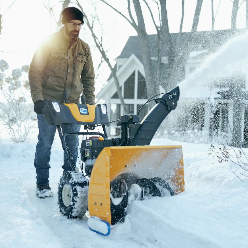 Cub Cadet 2X 26 in  243 cc Two-Stage Gas Snow Blower with Electric Start,  Power Steering and Steel Chute
