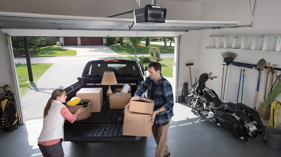 Chamberlain 1 2 Hp Heavy Duty Chain Drive Garage Door