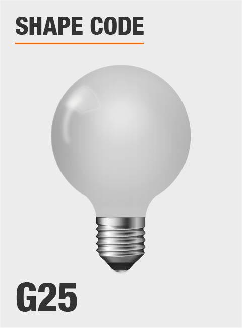 Philips 40 Watt Equivalent G25 Dimmable Led Light Bulb