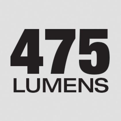475 Lumens of TRUEVIEW™ High Definition Output