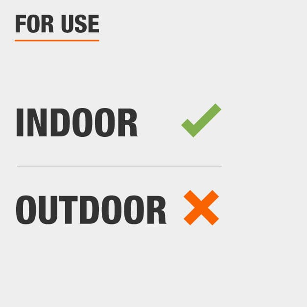 Area Rug should be for indoor usage only