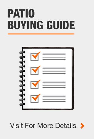 Patio Buying Guide