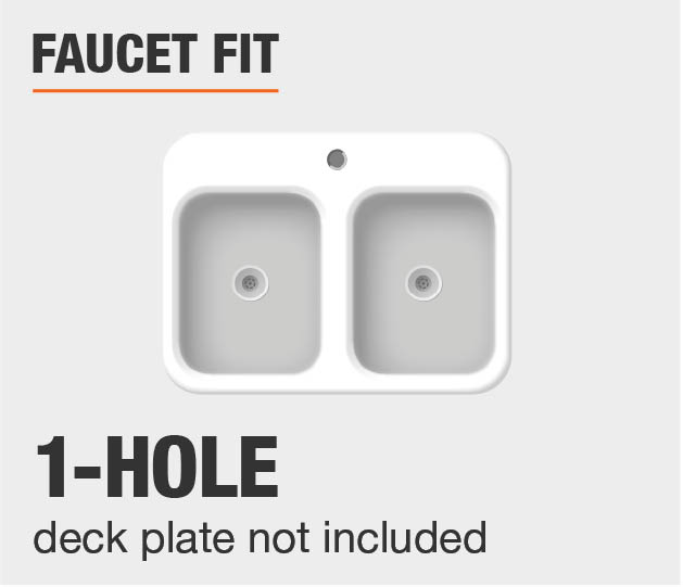 Faucet Fit 1Hole Install