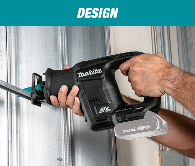 Makita 18-Volt LXT Lithium-Ion Sub-Compact Brushless Cordless Reciprocating  Saw (Tool-Only)