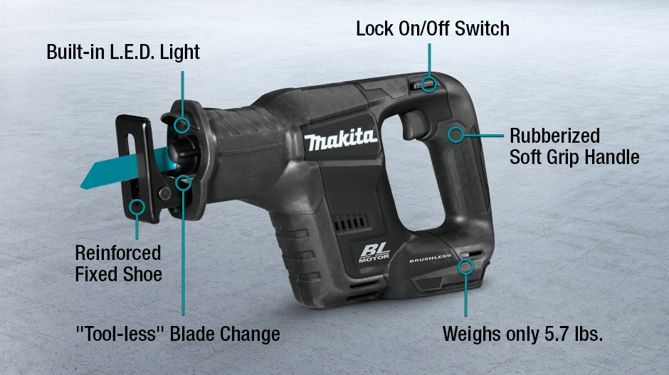 Makita 18 volt lxt lithium ion sub compact brushless cordless makita lxt riciprocating saw black breakdown keyboard keysfo Choice Image