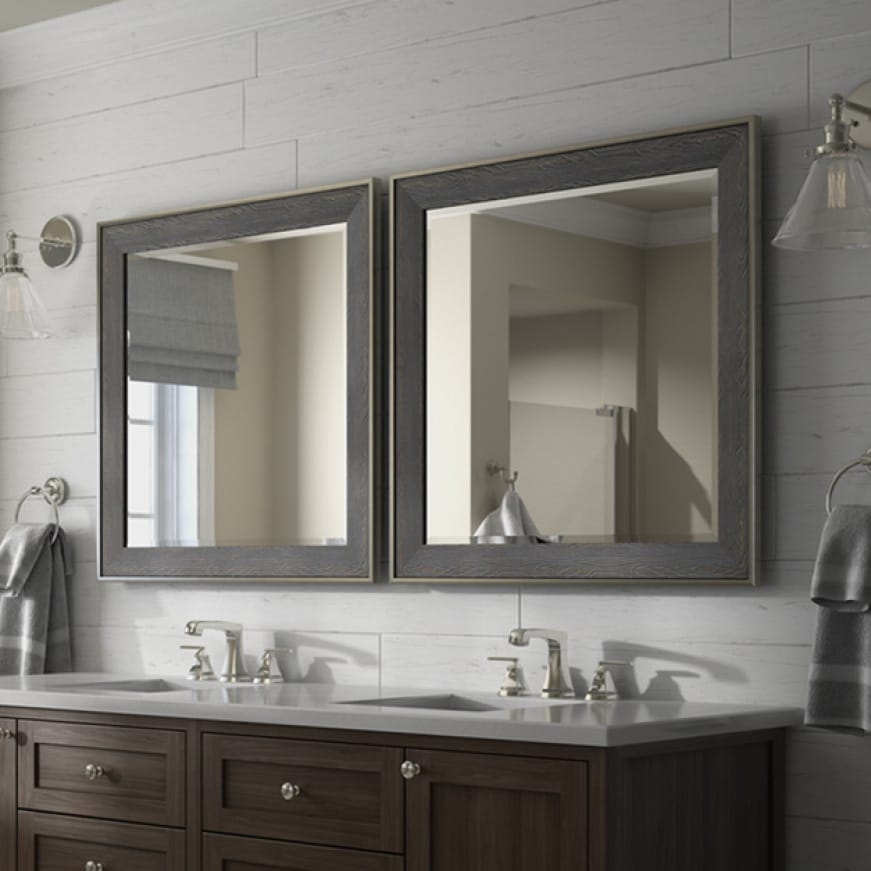 Image of a Delta Custom Reflections Mirror