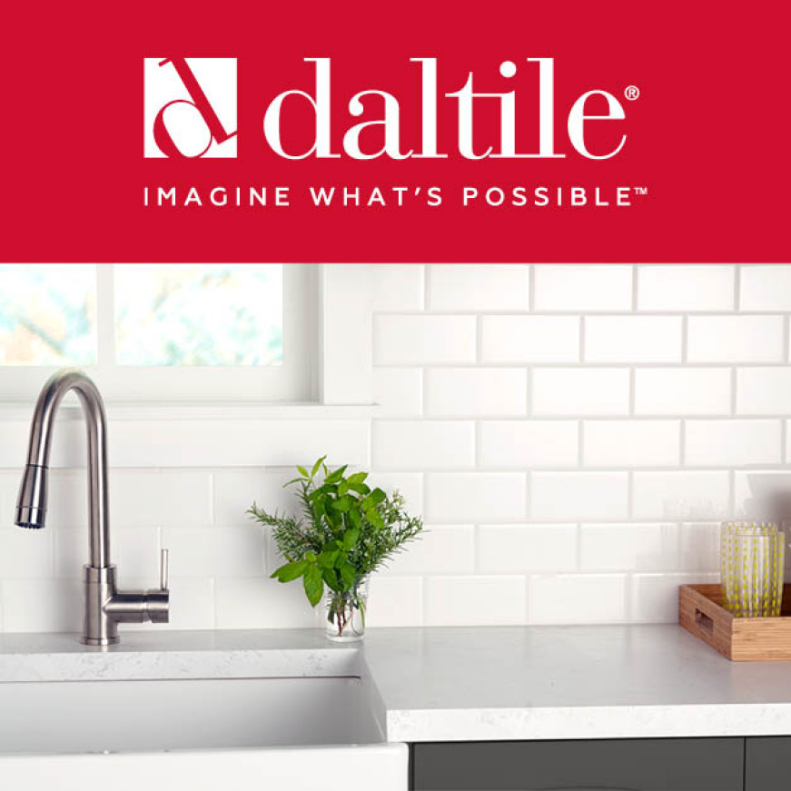 Daltile Restore Bright White 1 In X 6 In Ceramic Quarter