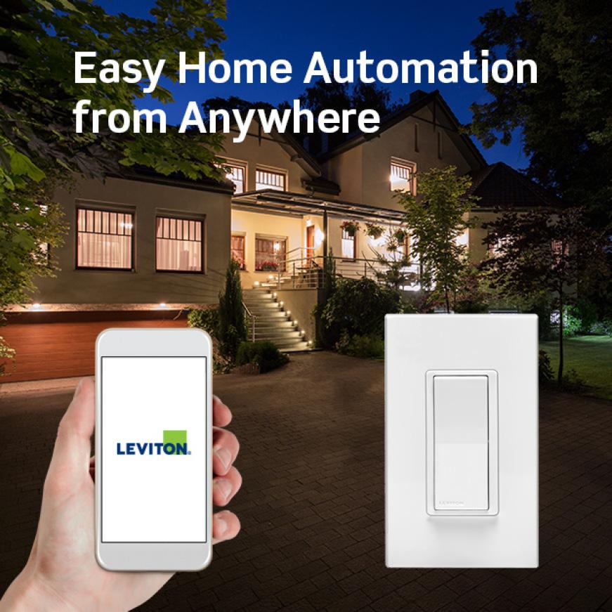 Leviton Decora Smart Z-Wave Light Switch
