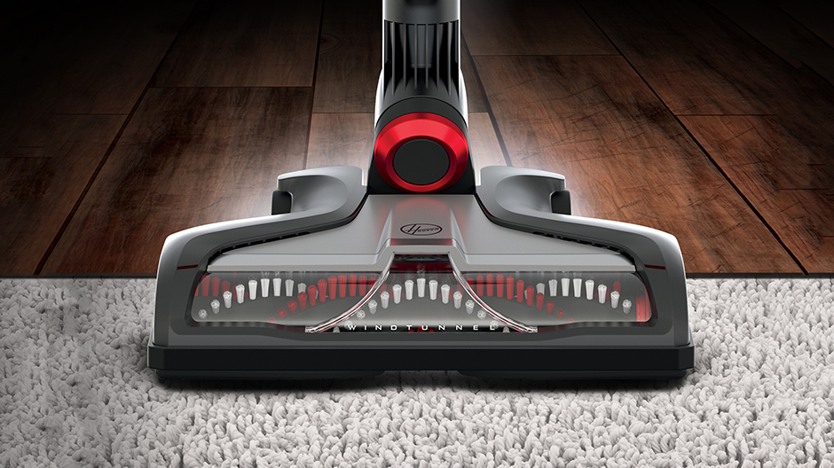 hoover fusion max cordless stick vacuum cleaner bh53110 the home depot. Black Bedroom Furniture Sets. Home Design Ideas