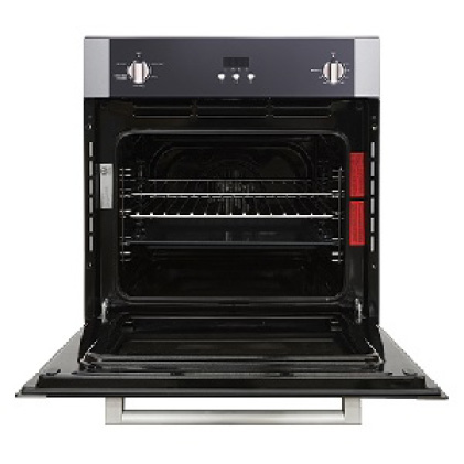 Convection oven circulates heat throughout
