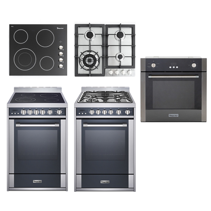 Magic Chef Urban Living line of sleek appliances