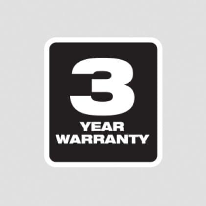 3 Year Tool Warranty