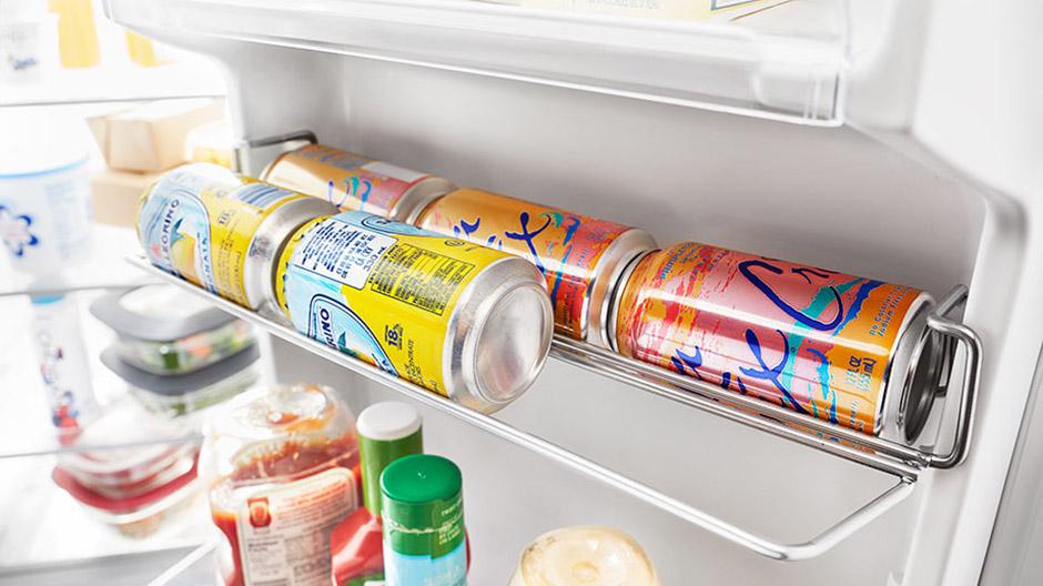 Whirlpool 36 In W 24 55 Cu Ft Side By Side Refrigerator