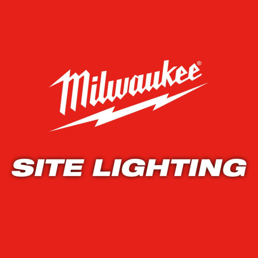 Milwaukee LED jobsite lights offer professionals all-day runtime.