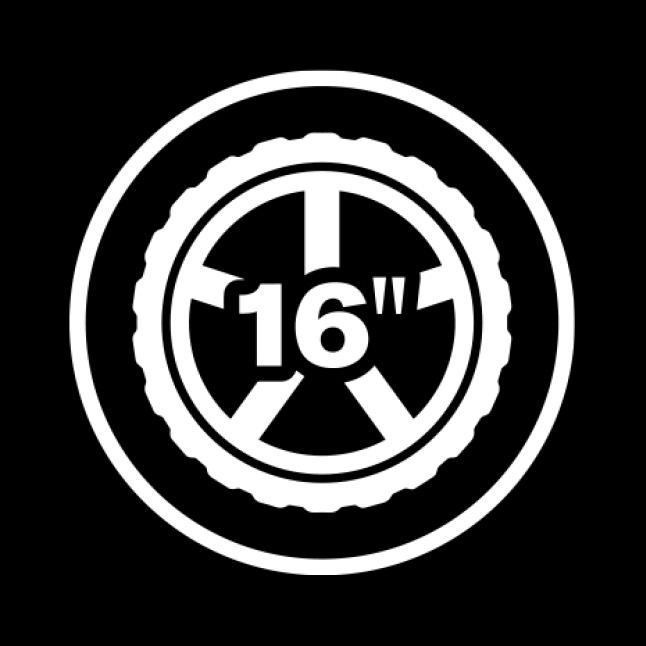 Wheel icon.
