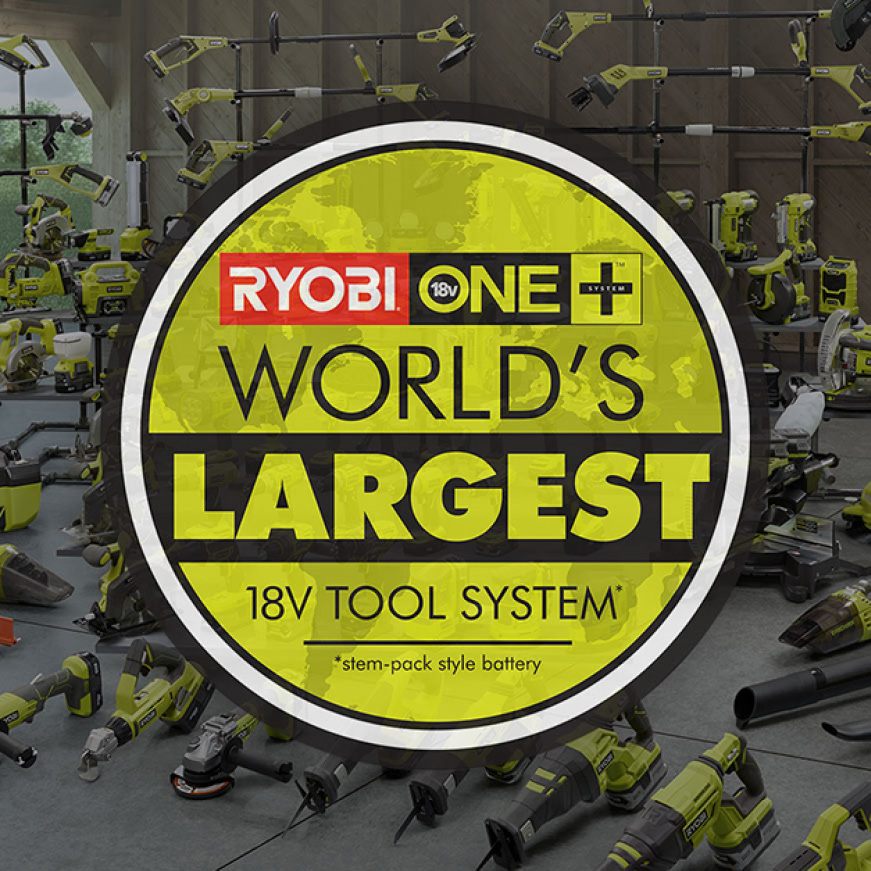 World's Largest 18V Tool System