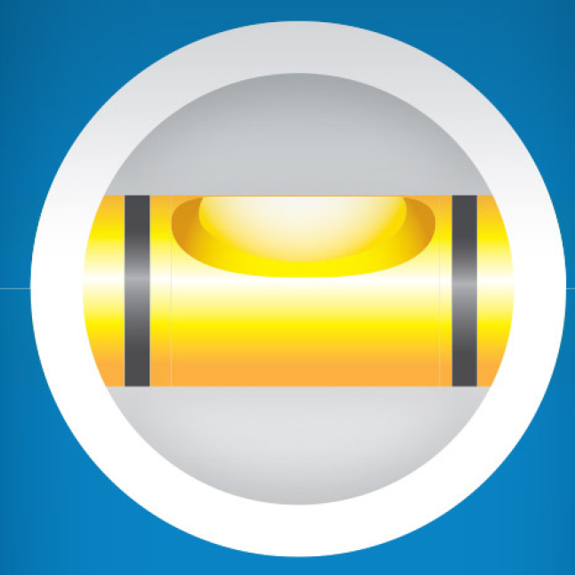 Secure hybrid plumb vials deliver long-life accuracy and resist breaking, leaking, or fogging