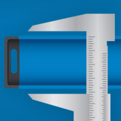 Precision milled edges for guaranteed accuracy