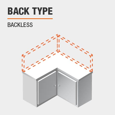 product back type backless