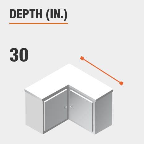Depth 30 inches