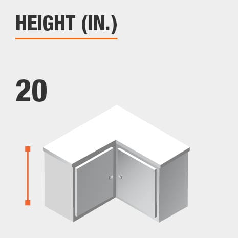 Height 20 inches
