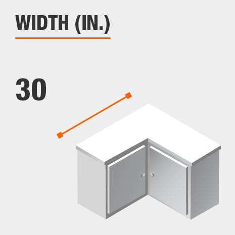 Width 30 inches