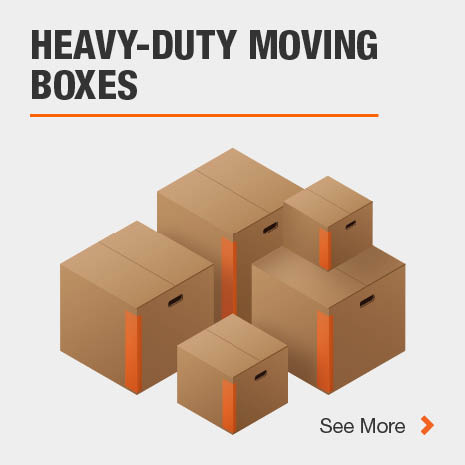 Various Heavy-Duty moving box sizes