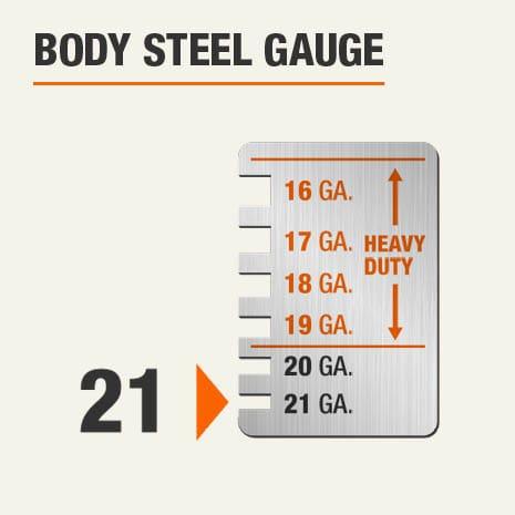 Body Steel Gauge of 21
