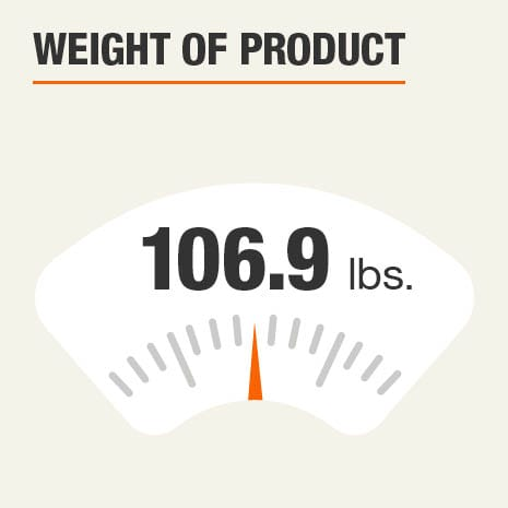 Weight of Product 106.9 pounds