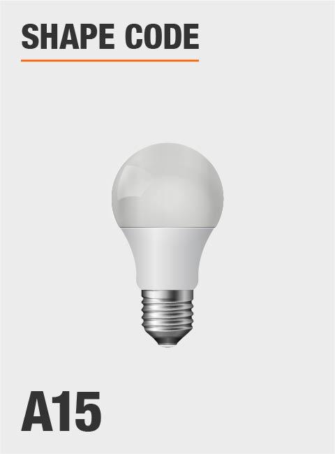 Daylight Led Bulbs: EcoSmart 40-Watt Equivalent A15 Dimmable Energy Star