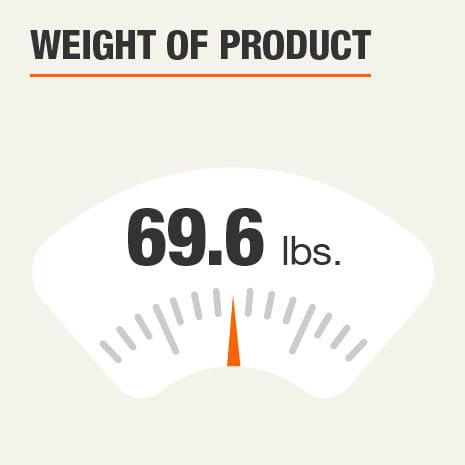 Weight of Product 69.6 pounds