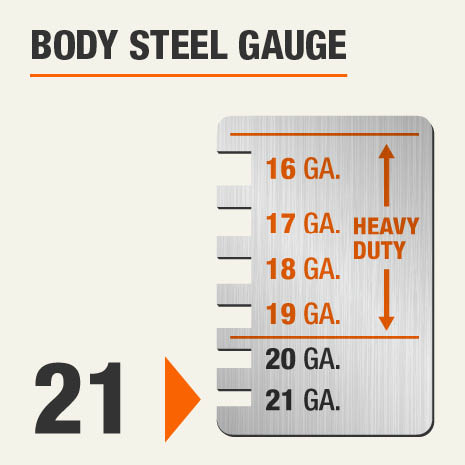 Body Steel Gauge of 21