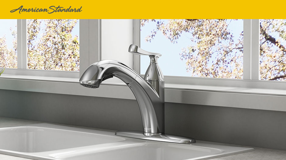 Chatfield Single Handle Pull-Out Sprayer Kitchen Faucet, CH