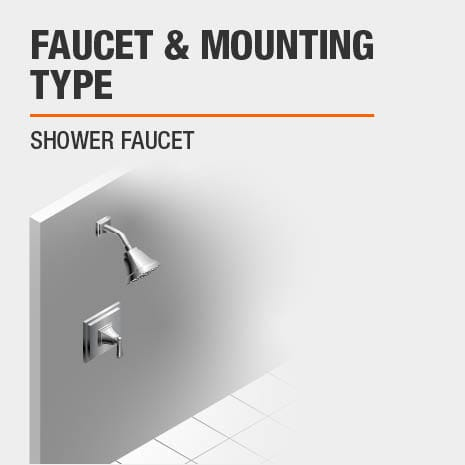 Wall Mounted Shower Faucet
