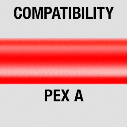Precise, continuous expansions of PEX A Tubing
