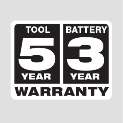 Five Year Tool, Three Year Battery
