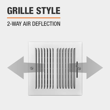 This product has a 2-Way Air Deflection style.