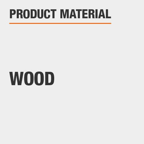 This product is constructed of a Wood material.