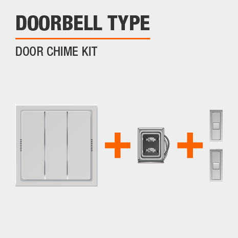 Tremendous Hampton Bay Wired Door Chime Contractor Kit Hb 27102 03 The Home Depot Wiring Digital Resources Cettecompassionincorg
