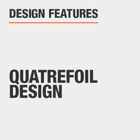 Console Table with Quatrefoil Design