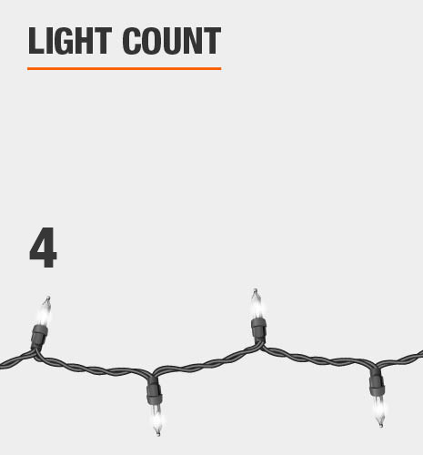 The light count is 8