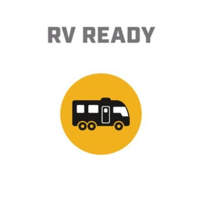 Icon image of RV showing RV Ready