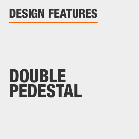 Rectangular Dining Table with Double Pedestal