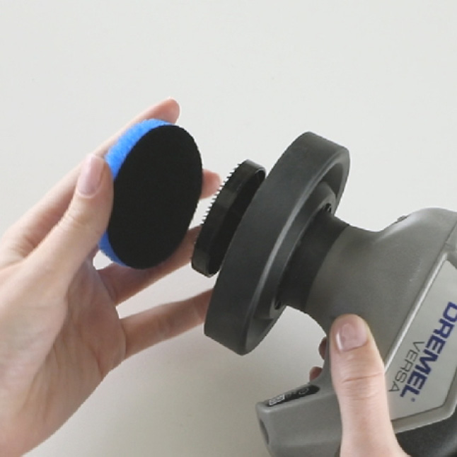 Image of accesory pad attachment